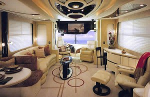 Luxury Bus Inside